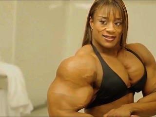 Francesca petitjean lesbian sex gym female body builder